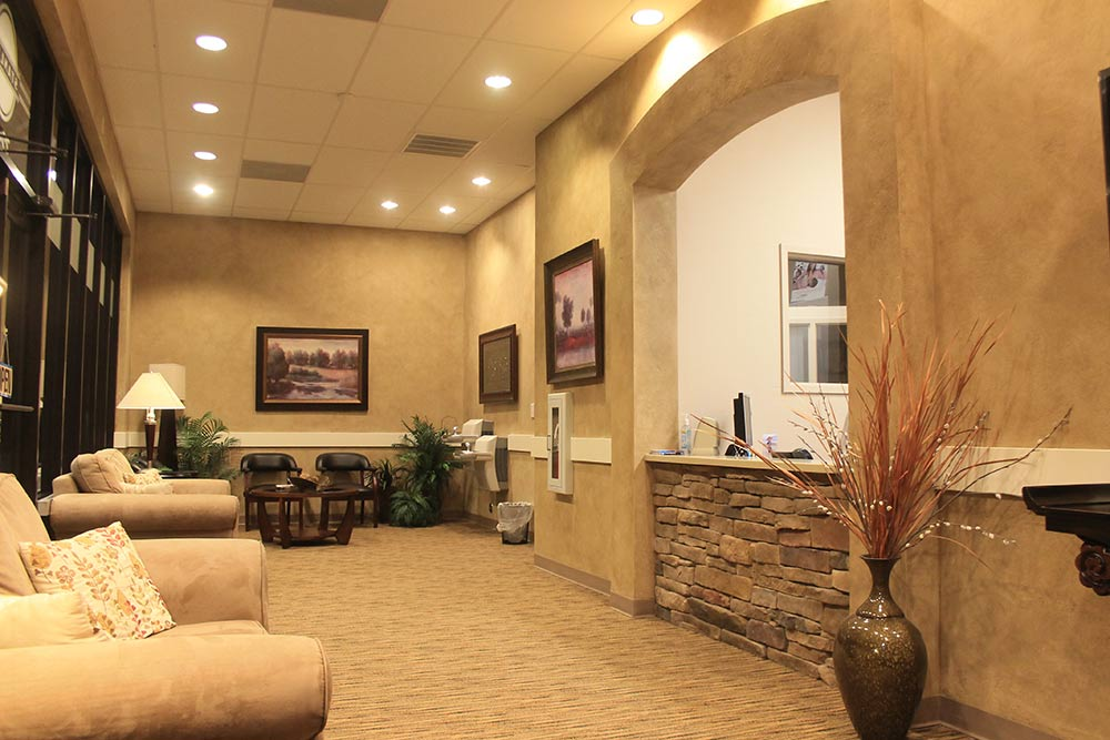 The interior of our Family Dentistry office in Holly Springs